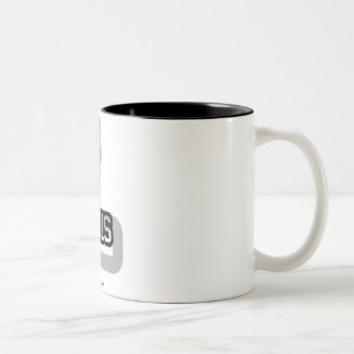 L is for Luis Two-Tone Coffee Mug