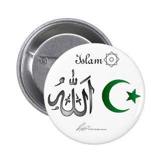 L Islam - bouton Pin's