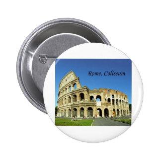 L Italie Rome Colisé romain St K Badges Avec Agrafe