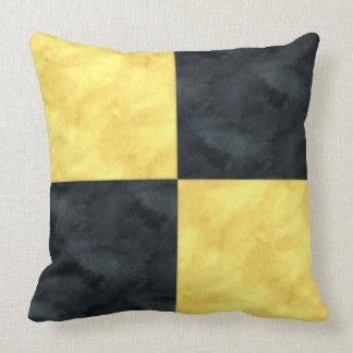 L Lima Watercolor Nautical Signal Maritime Flag Throw Pillow