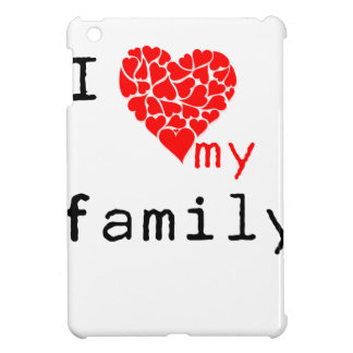 l love my family iPad mini covers