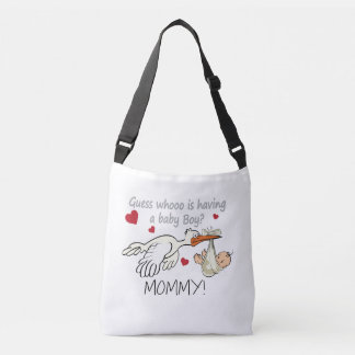 L Love My Mom Crossbody Bag