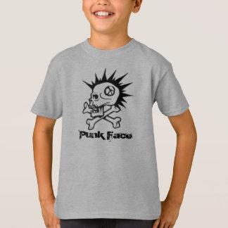 l, Punk Face T-Shirt