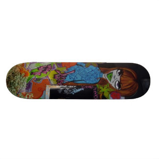 L�vres green pulpy - skateboard deck