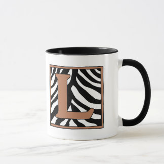 L-Zebra Coffee Mug