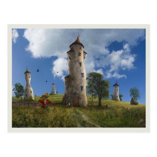 La Aldea - Postcard