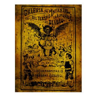 La Almoned del Diablo by José Guadalupe Posada Postcard