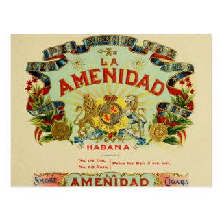 La Amenidad Cigars Postcard