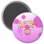 La Amiga Número 1 in Spanish Flag Colours for