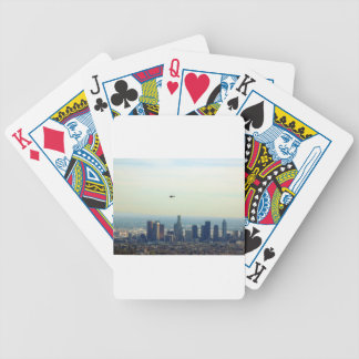 LA and helo Bicycle Playing Cards