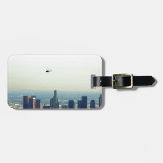 LA and helo Luggage Tag