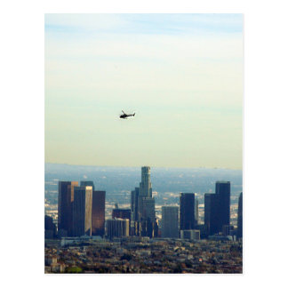 LA and helo Postcard