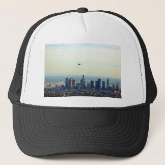 LA and helo Trucker Hat