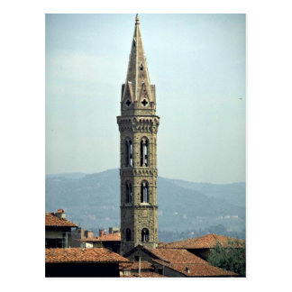La Badia, Florence, Tuscany, Italy Postcard