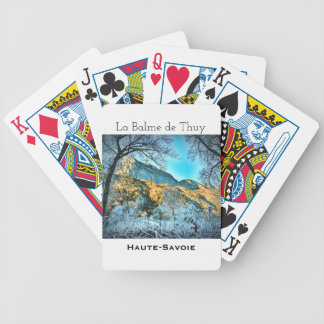 La Balme de Thuy, Haute Savoie Playing Cards