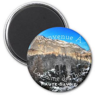 La Balme de Thuy, Haute-Savoie Round Magnet