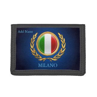 La Bandiera - Personalized Italian Flag Tri-fold Wallets