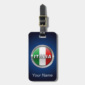 La Bandiera - The Italian Flag Luggage Tag
