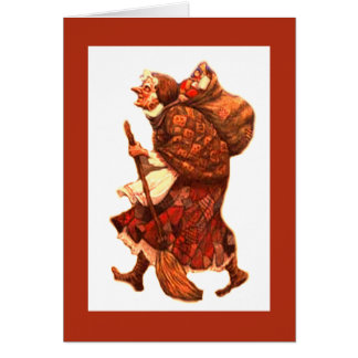 La Befana - Buona Epifania / Explanation Card