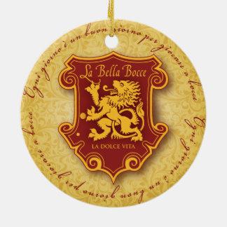 la Bella Bocce ornament