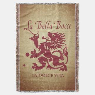 La Bella Bocce Throw Blanket