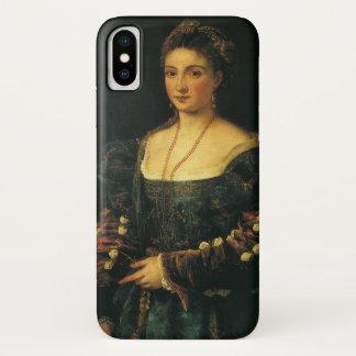 La Bella, Duchess of Urbino by Titian iPhone X Case