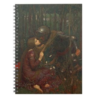 La Belle Dame Sans Merci, 1893 (oil on canvas) Notebooks
