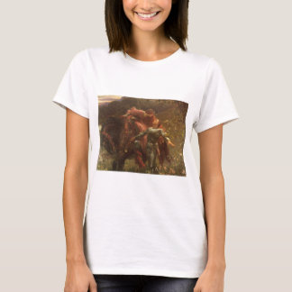 La Belle Dame sans Merci by Sir Frank Dicksee T-Shirt