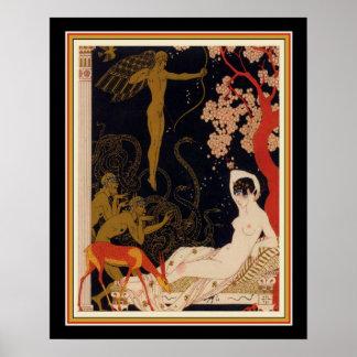 """"""" La Belle Helene"""" 1922 Art Deco 16 x 20 Poster"""