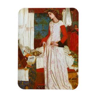 La Belle Iseult | Queen Guenevere, William Morris Rectangular Photo Magnet