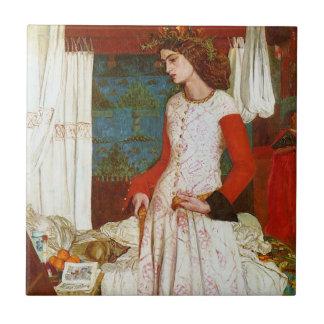 La Belle Iseult | Queen Guenevere, William Morris Tile