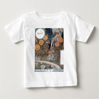 La Belle Jardiniere – August - Eugène Grasset Baby T-Shirt