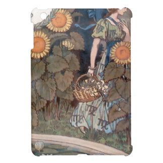 La Belle Jardiniere – August - Eugène Grasset iPad Mini Cover