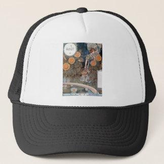 La Belle Jardiniere – August - Eugène Grasset Trucker Hat