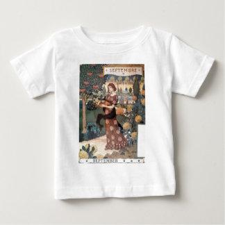 La Belle Jardiniere – Septembre - Eugène Grasset Baby T-Shirt