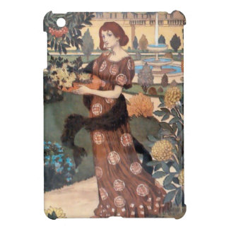 La Belle Jardiniere – Septembre - Eugène Grasset iPad Mini Cover