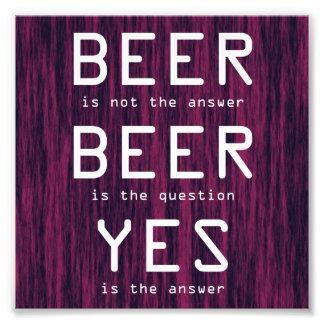 La bière pourpre n'est pas la copie de photo de