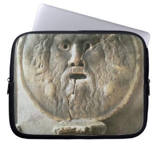 La Bocca di Verita (The Mouth of Truth) (photo) Laptop Computer Sleeve