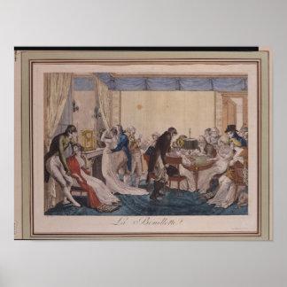 La Bouillotte, 1798 Poster