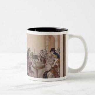 La Bouillotte, 1798 Two-Tone Coffee Mug