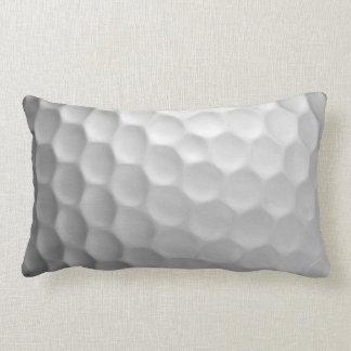 La boule de golf embrève le motif de texture oreillers