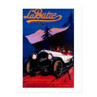 La Buize Lyon Vintage PosterEurope Postcard