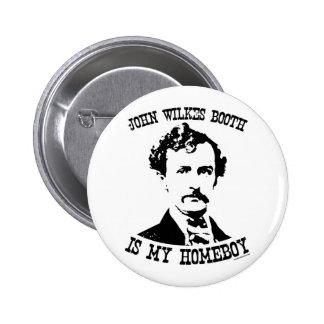 la cabine de wilkes de John est mon homeboy Badges Avec Agrafe