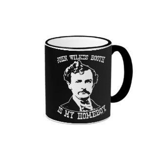 la cabine de wilkes de John est mon homeboy Mug Ringer