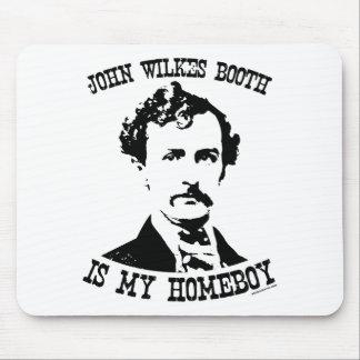 la cabine de wilkes de John est mon homeboy Tapis De Souris