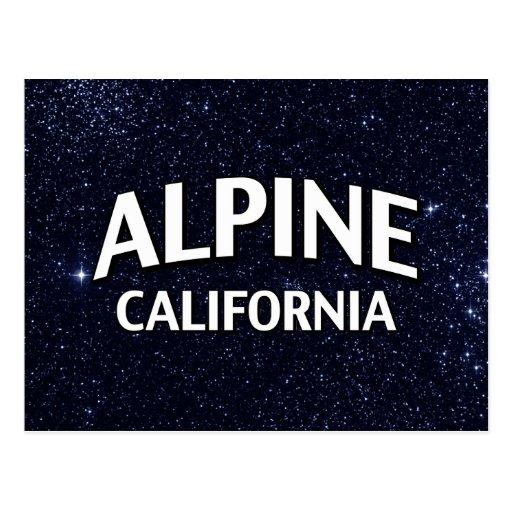 La Californie alpine Cartes Postales