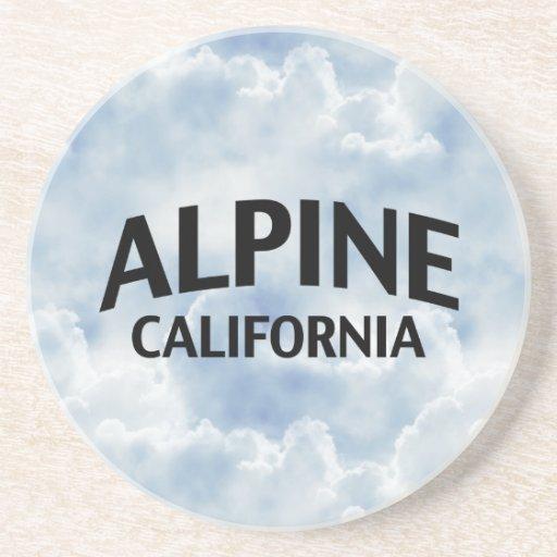 La Californie alpine Dessous De Verres