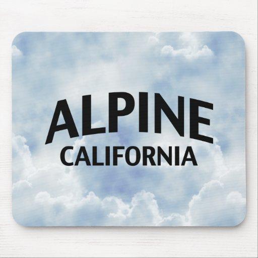 La Californie alpine Tapis De Souris