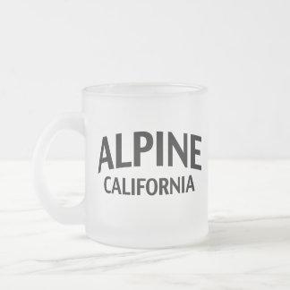 La Californie alpine Tasses À Café