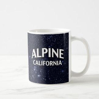 La Californie alpine Tasse